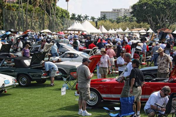 Haute Event: Jay Leno Helps Raise $3 million at Boca Raton Concours d' Elegance