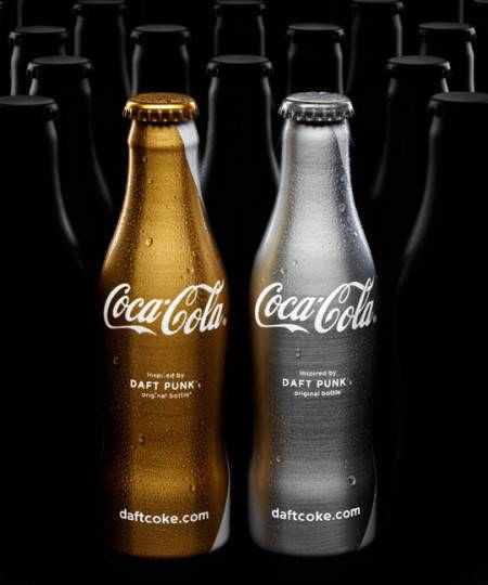 Daft Punk Partners with Coca Cola