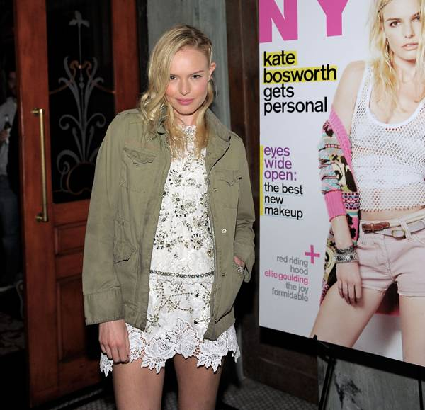 Haute Event: Belvedere Vodka Sponsors Dinner Celebrating Kate Bosworth's March Cover of Nylon Magazine