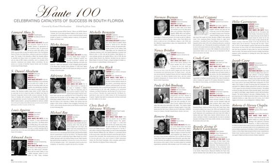 Haute Living Miami's Haute 100 Issue Now Online!