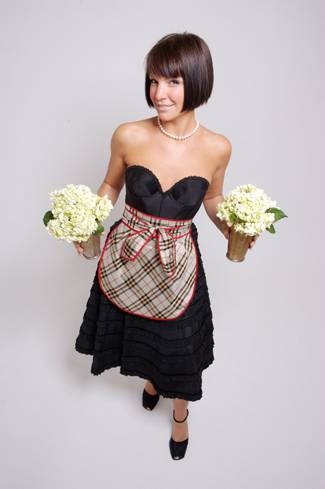 Lisa Garza to Launch Vintage Apron Line Couture Caviar at Neiman Marcus