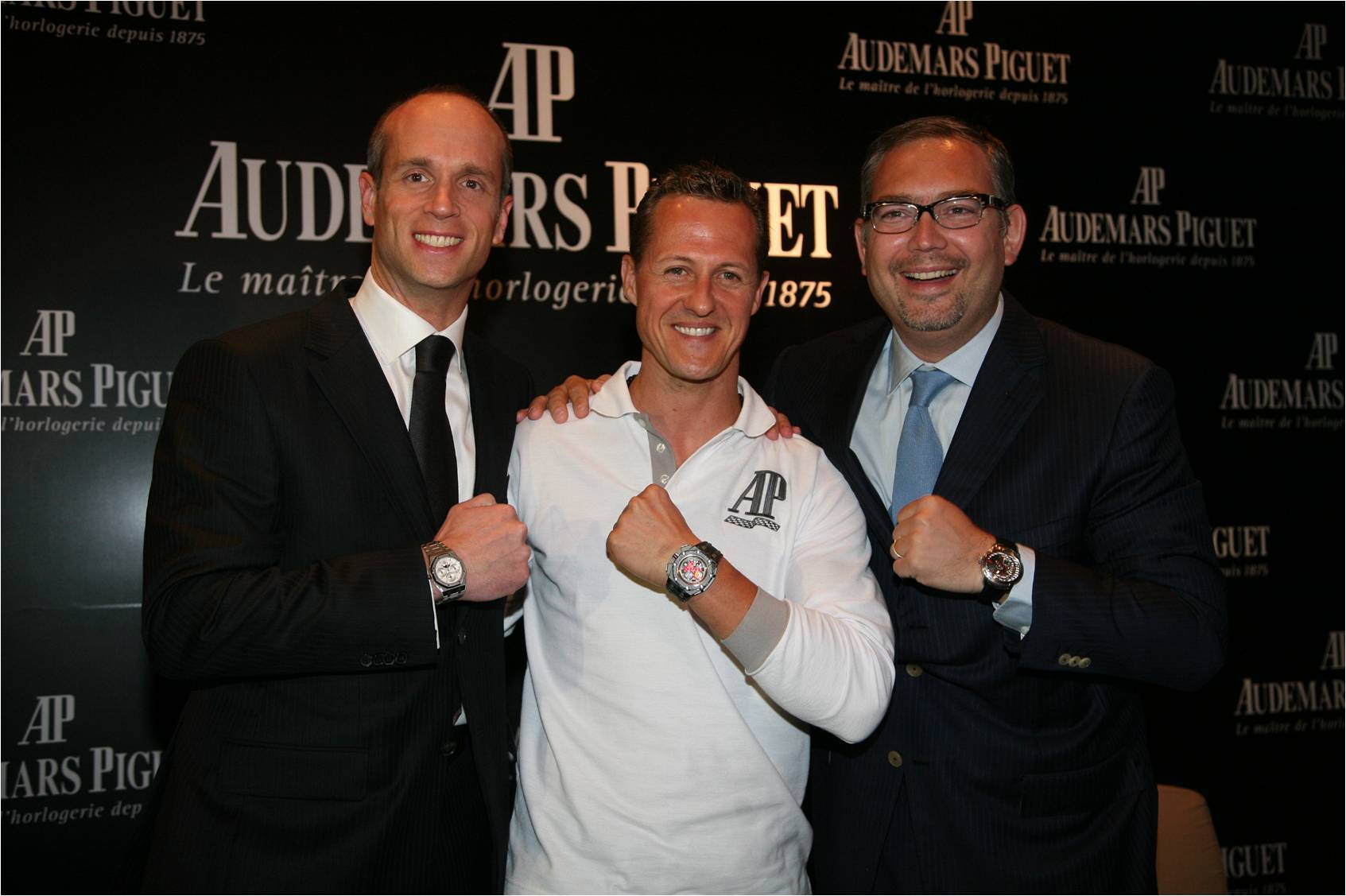 Haute Event: Michael Schumacher Makes Inaugural Appearance for Audemars Piguet in Shanghai
