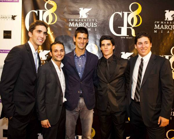 Haute Event: Tennis Superstar Novak Djokovic and GR8 Miami Host Fundraising Event for Japan