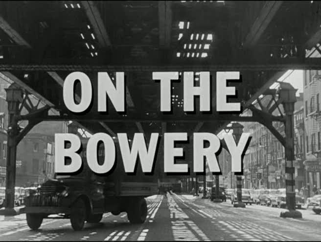 "Save the Date: ""On The Bowery"" Screening at The Graduate Center, CUNY"