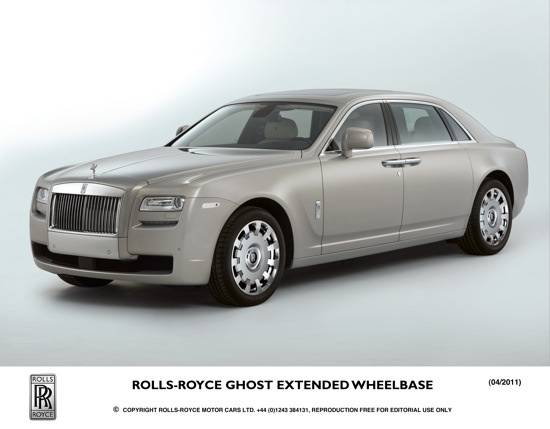 HAutos: Rolls-Royce Premieres New Ghost Model in Shanghai