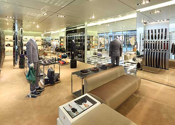 Haute Couture: Prada Revamps and Re-Opens Hong Kong's IFC Store