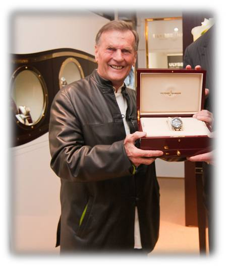 RIP Rolf Schynder, CEO and Owner of Ulysse Nardin
