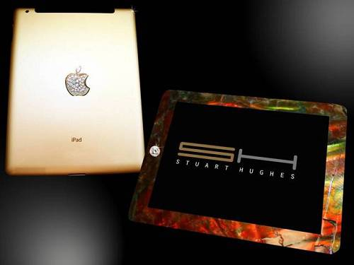 Haute Toys: The $8 Million Gold iPad 2 by Stuart Hughes