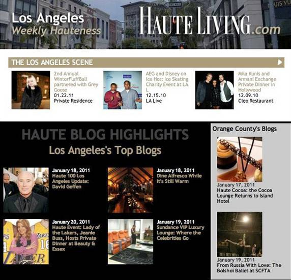 Haute Living's Newsletter: Sign Up Today!