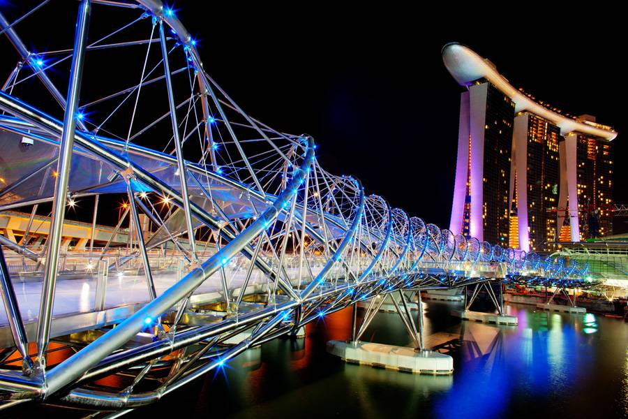 Singapore's Mega-Integrated Resort Marina Bay Sands to Open Two