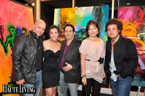 Haute Event: Area 23 Galeria's Pop-Up Exhibit at the Key Biscayne Yacht Club