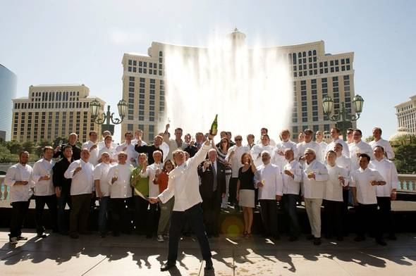 Haute Event: Vegas Uncork'd Kicks Off with a Champagne Saber Off