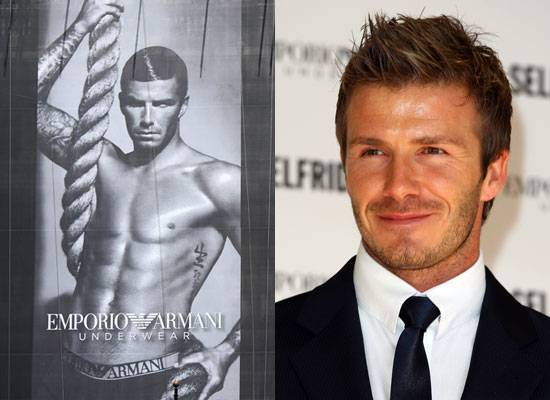 Haute 100 Los Angeles Update: David Beckham to Design Bodywear