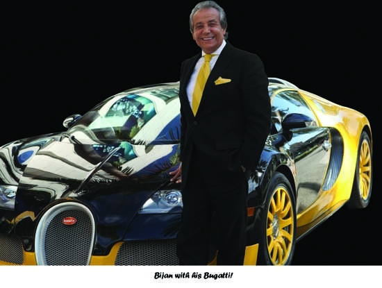 Bijan-designed 2011 Bugatti Veyron Grand Sport Released a Month After His Passing