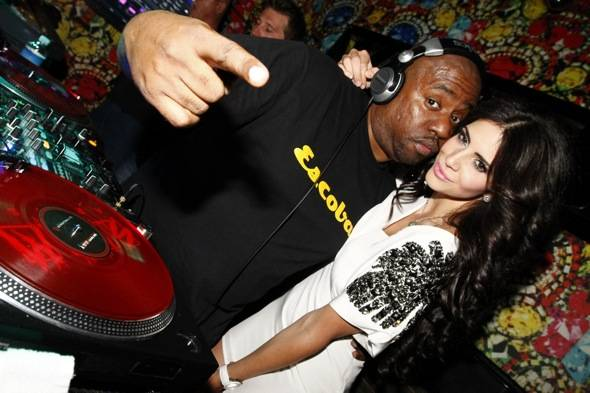 Haute Event: Hope Dworaczyk at the Hard Rock Hotel; Aaron Rodgers at Rain Nightclub