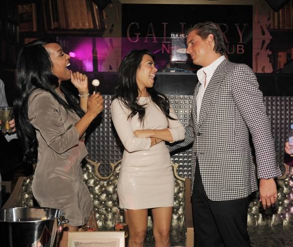 Haute Event: Scott Disick Celebrates His Birthday with Kourtney Kardashian at Gallery Nightclub