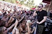 Mike Posner performs at Wet Republic.