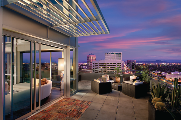 Go Inside The Posh Penthouses At One Lexington In Downtown Phoenix