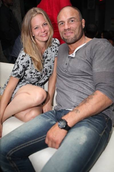 Haute Event: Randy Couture Dines at N9NE Steakhouse