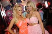 Bridget Marquardt and Angel Porrino at Tryst Nightclub.