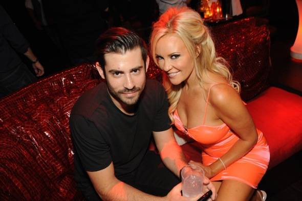 Haute Event: Bridget Marquardt and Angel Porrino Go on a Double Date at Tryst
