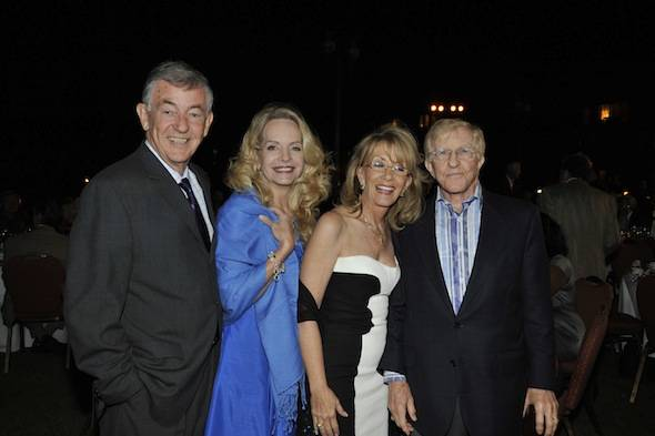 L-R: CA and Nan Howlett with Kathleen and Tom Lang