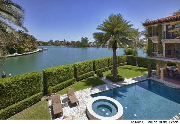 Celebrity Living: Anna Kournikova Puts Miami Beach Estate on Market for $9.4 Million