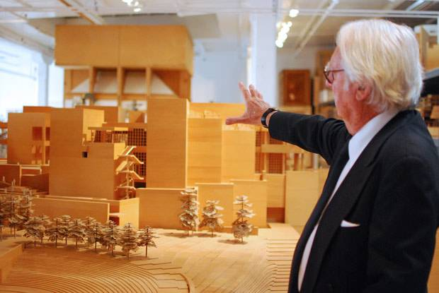 Works from Architect Richard Meier on Display in Long Island