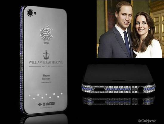 Haute Toys: Exclusive $3.3 Million Royal Wedding iPhone 4
