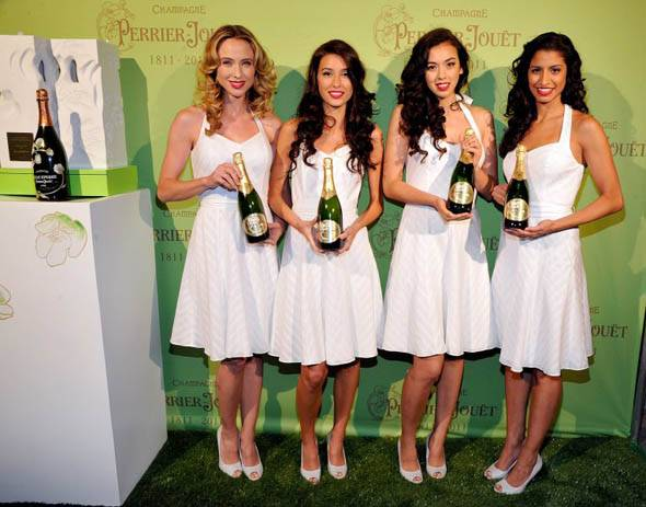Haute Event: Susan Sarandon and Eva Amurri Toast 200 Years of Perrier-Jouët Champagne at Mondrian SoHo