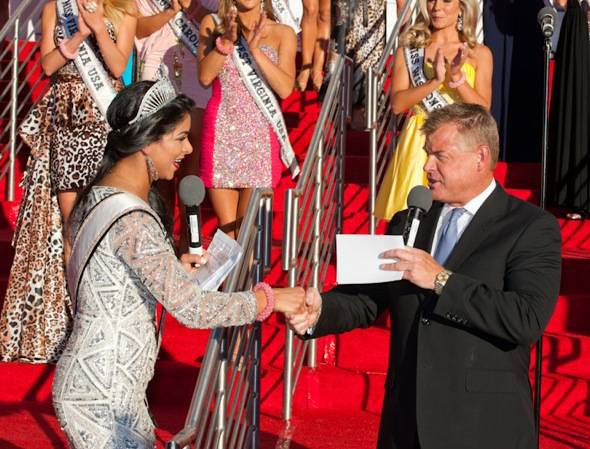 Haute Event: Jeff Timmons and Miss USA Rima Fakih Kick Off the 2011 Pageant at Planet Hollywood Resort
