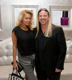 Shana Moakler pictured with her longtime friend and hair colorist Michael Boychuck.