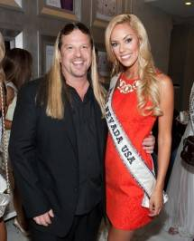 Michael Boychuck with Miss Nevada USA 2011 Sarah Chapman.