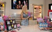 Holly Madison at her book signing at Sugar Factory.
