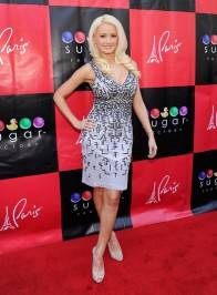 Holly Madison walks the red carpet for her book signing at Sugar Factory.