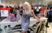 Holly Madison signs copies of her new book at Sugar Factory at Paris Las Vegas.