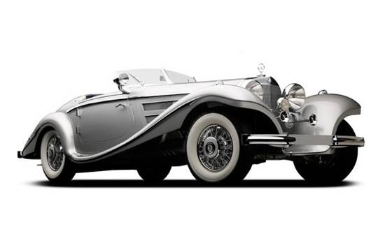 Hautos: 1937 Mercedes-Benz 540K Roadster Estimated to be Most Expensive Ever Auctioned
