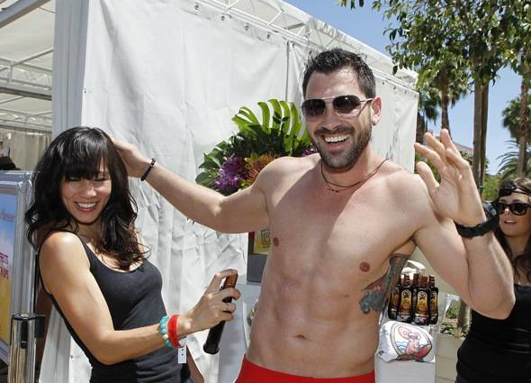 Haute Event: Dancing with the Stars Veteran Maksim Chmerkovskiy Hosts the Us Weekly Hot Bodies Party at Wet Republic