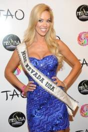 Miss Nevada Sarah Chapman at Tao.