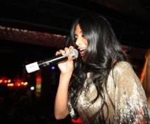 Nicole Scherzinger performs at Tao.