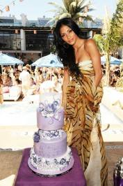 Scherzinger celebrates her birthday at Marquee Nightclub and Dayclub.