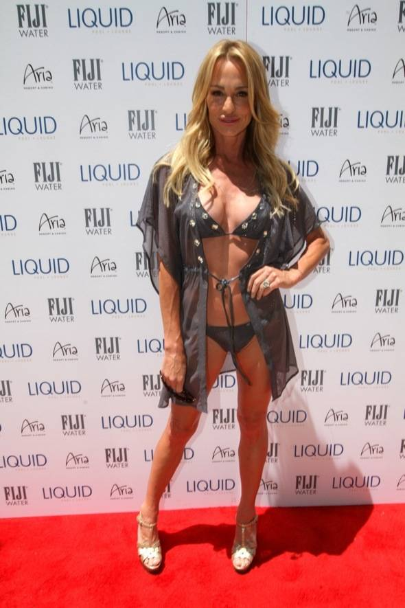 Haute Event: Taylor Armstrong Celebrates Her Birthday at Liquid and The Bank
