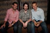 Teddy Purcell, Jason Reitman and Dustin Brown