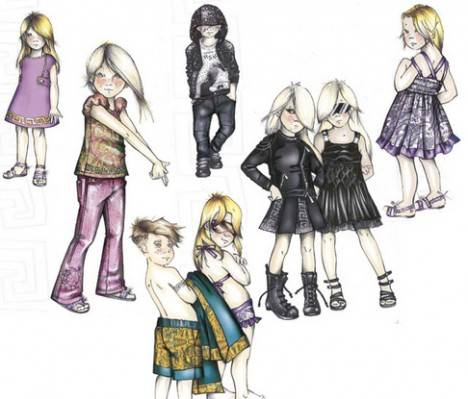 Versace to Launch Children's Line in 2012