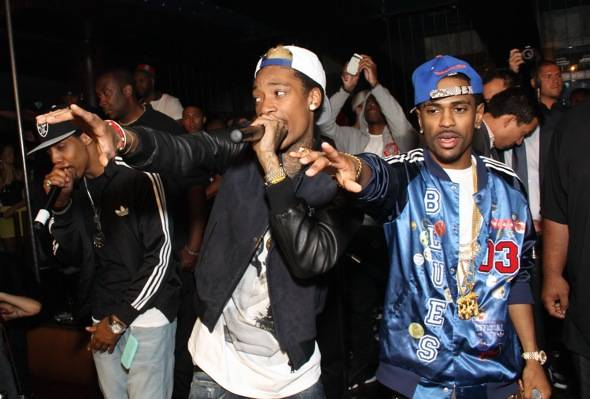 Haute Event: Wiz Khalifa and Big Sean Perform at JET Nightclub