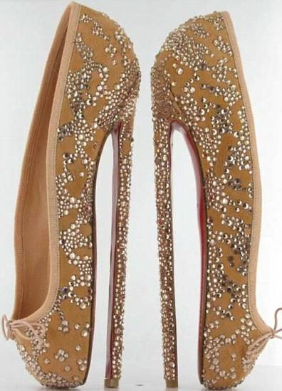 Christian Louboutin's Eight-Inch Ballet-Inspired Heels to Auction for Charity
