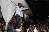 B.o.B. performs at Pure Nightclub.