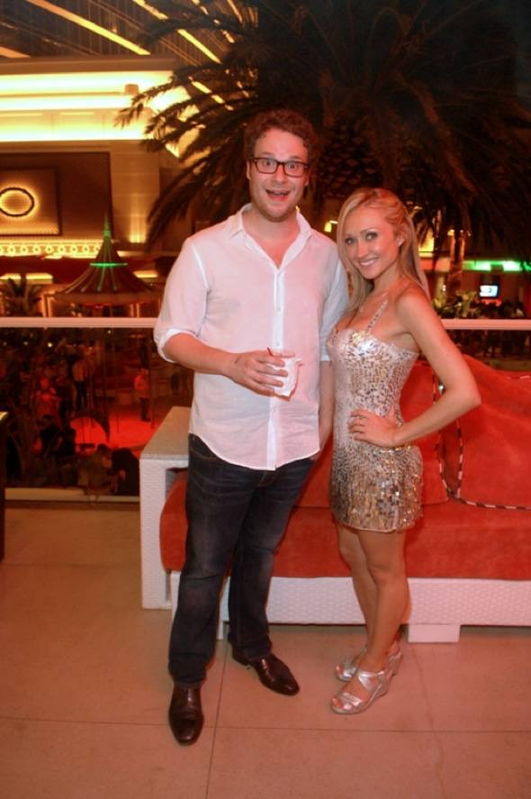 Haute Event: Seth Rogen Parties at Surrender Nightclub