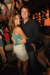 Eva LaRue at Blush Boutique Nightclub.