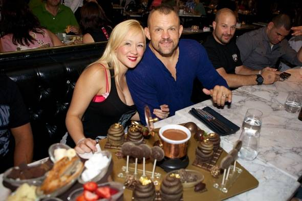 Haute Event: UFC Stars Chuck Liddell, Cain Velasquez, Josh Koscheck and Jon Fitch at Sugar Factory